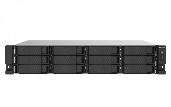 QNAP TS-1253DU-RP-4G 12-Bay 60TB Bundle mit 6x 10TB Red Pro WD102KFBX