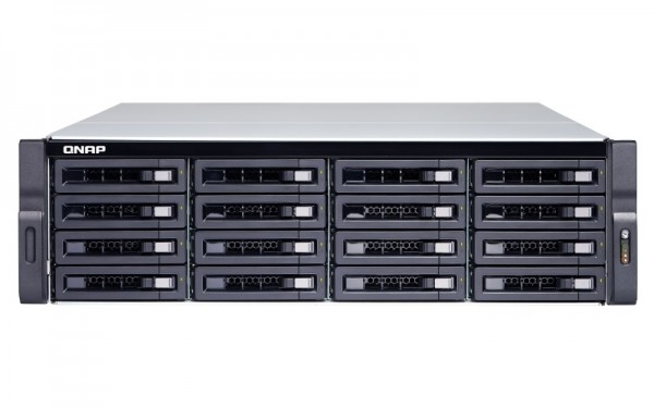 Qnap TS-1683XU-RP-E2124-16G 16-Bay 160TB Bundle mit 16x 10TB Red Pro WD102KFBX