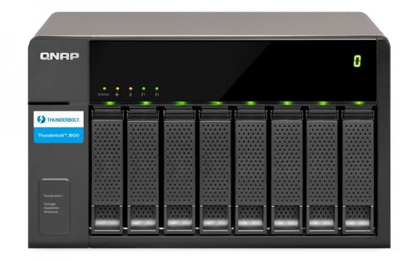 Qnap TX-800P 8-Bay 10TB Bundle mit 5x 2TB Red Pro WD2002FFSX