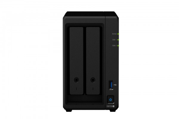 Synology DS720+ 2-Bay 8TB Bundle mit 2x 4TB IronWolf ST4000VN008