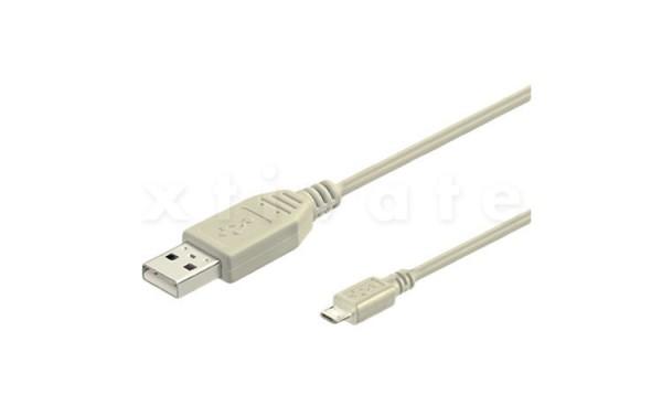 USB Kabel A Stecker zu B-Micro Stecker 3m, (USB 2.0 und 1.1)