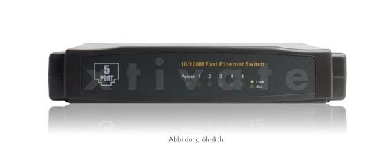 Switch, 5 Port, 10/100 Mbit