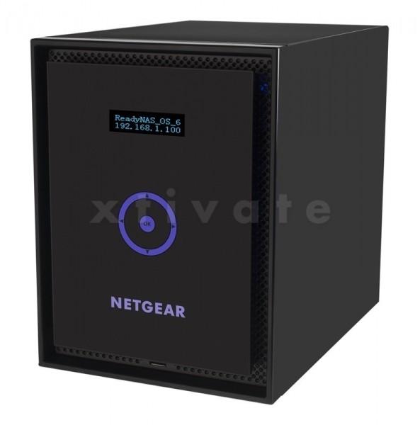 Netgear ReadyNAS 316 RN31600 12TB, 2x Gb LAN (RN31600-100EUS), 3x 4TB HGST Deskstar NAS