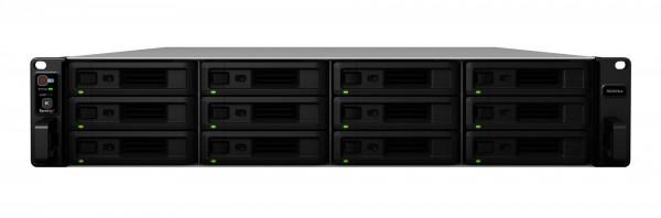 Synology RS3618xs 12-Bay 144TB Bundle mit 12x 12TB Gold WD121KRYZ