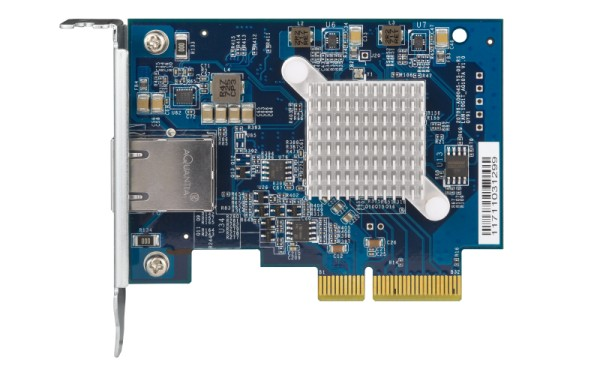 QNAP 10GbE Single-Portnetwork expansion card, PCIe Gen3 x4 (QXG-10G1T)