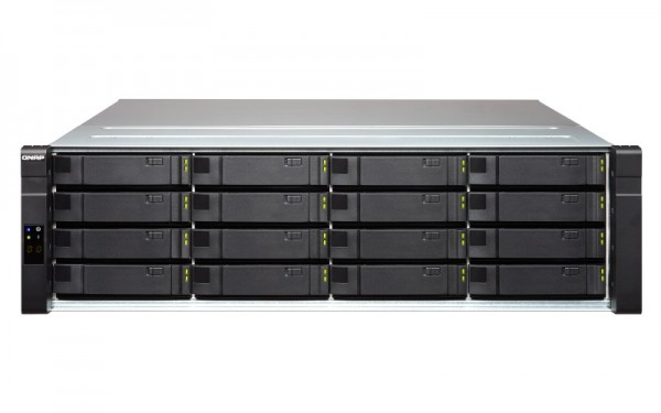 Qnap ES1640dc v2 16-Bay 192TB Bundle mit 16x 12TB Gold WD121KRYZ