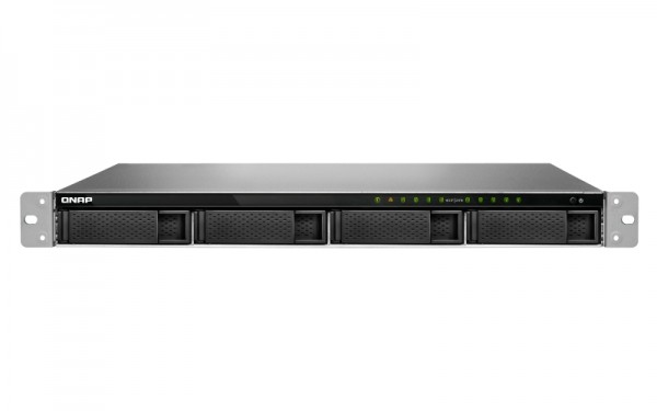 Qnap TS-983XU-RP-E2124-8G 9-Bay 24TB Bundle mit 2x 12TB Ultrastar