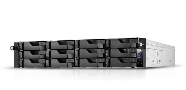 Asustor AS7112RDX 12-Bay 6TB Bundle mit 6x 1TB Gold WD1005FBYZ