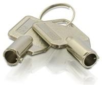 2 Stück Qnap Ersatzschlüssel für HDD Tray KEY-HDDTRAY-01