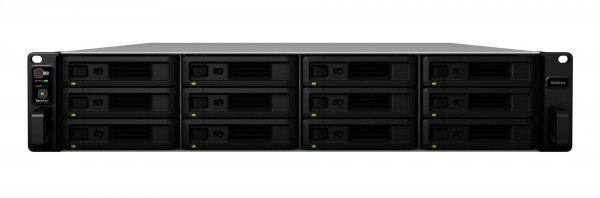 Synology RS3618xs 12-Bay 60TB Bundle mit 6x 10TB Red Pro WD102KFBX