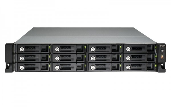 Qnap TS-1253U-RP 12-Bay 72TB Bundle mit 12x 6TB Red Pro WD6002FFWX