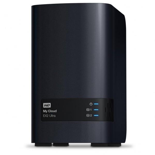 Western Digital My Cloud EX2 Ultra 2-Bay 12TB Bundle mit 2x 6TB Red Plus WD60EFZX