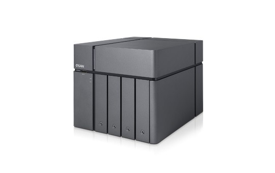 Qsan XCubeNAS XN5004T 4-Bay 12TB Bundle mit 4x 3TB DT01ACA300
