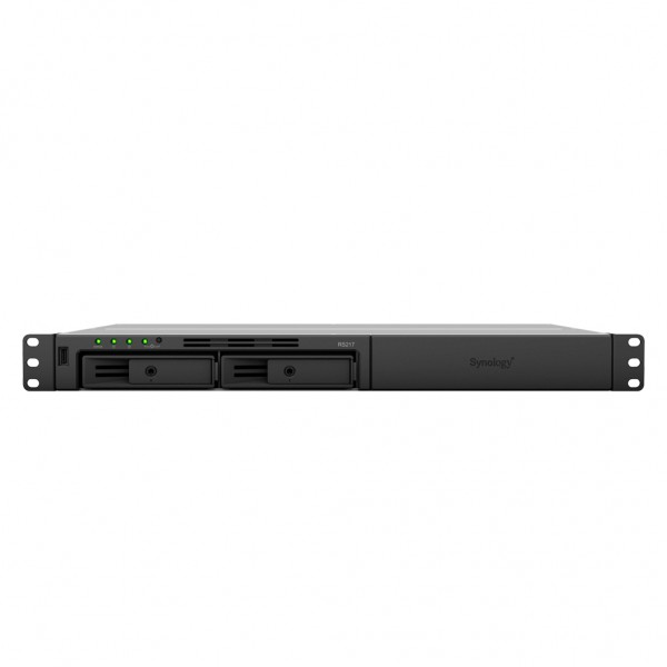 Synology RS217 2-Bay 24TB Bundle mit 2x 12TB IronWolf Pro ST12000NE0008