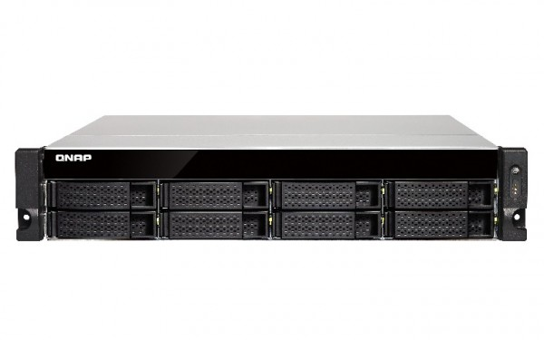 Qnap TS-873U-RP-8G 8-Bay 24TB Bundle mit 4x 6TB Red WD60EFAX