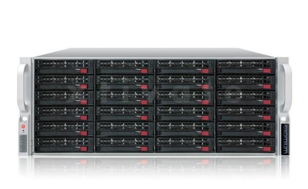 exomium expansion storage 445E R4-2430 Rackmount 4HE mit 72TB (24x 3TB)