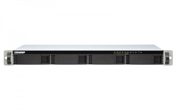 QNAP TS-451DeU-8G QNAP RAM 4-Bay 24TB Bundle mit 2x 12TB Red Plus WD120EFBX