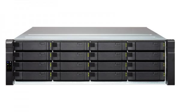Qnap EJ1600 v2 16-Bay 64TB Bundle mit 8x 8TB Red Pro WD8003FFBX