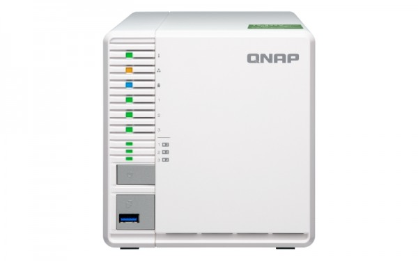 Qnap TS-332X-2G 3-Bay 1TB Bundle mit 1x 1TB Red WD10EFRX
