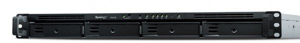 Synology RX418 4-Bay 4TB Bundle mit 2x 2TB Gold WD2005FBYZ