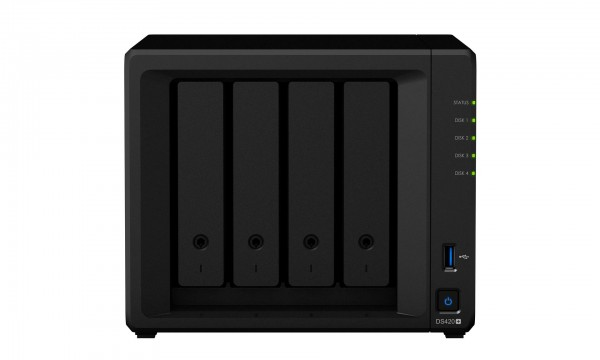Synology DS420+ 4-Bay 12TB Bundle mit 1x 12TB Red Plus WD120EFBX