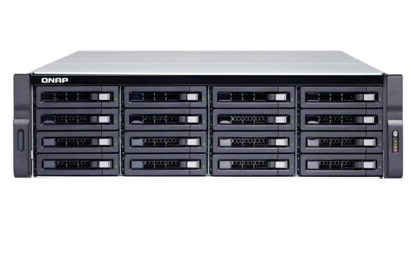 Qnap TDS-16489U-SE1-R2 20-Bay 160TB Bundle mit 16x 10TB Red Pro WD101KFBX