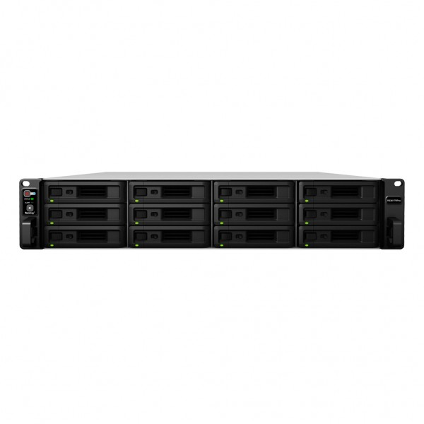 Synology RS3617RPxs 12-Bay 120TB Bundle mit 12x 10TB Ultrastar