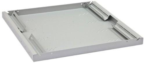 """19"""" Fachboden universal 450mm, 1HE, schwarz (RAB-UP-450-A3)"""