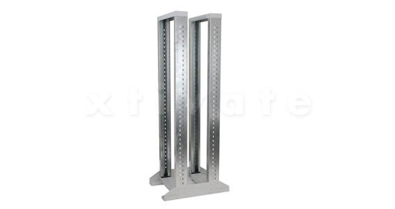 """Triton Gestellrahmen / Laborgestell 19"""" Rahmen 32HE 616 x 600 mm zweiteilig (RSX-32-XD6-CXX-A3)"""