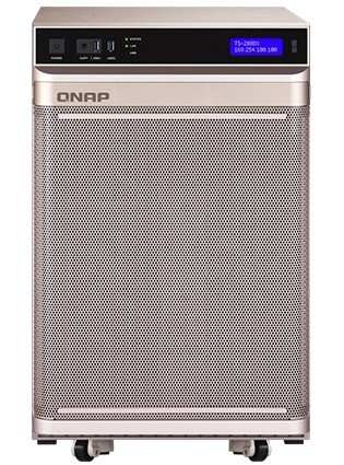 Qnap TS-2888X-W2123-32G, 32GB RAM, 2x 10GBase-T, 4x Gb LAN