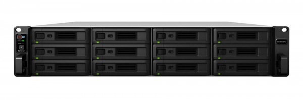 Synology RS3621RPxs 12-Bay 96TB Bundle mit 6x 16TB IronWolf Pro ST16000NE000