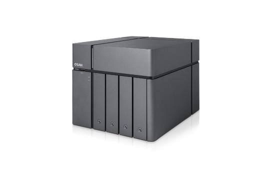 Qsan XCubeNAS XN5004T 4-Bay 8TB Bundle mit 2x 4TB Gold WD4003FRYZ