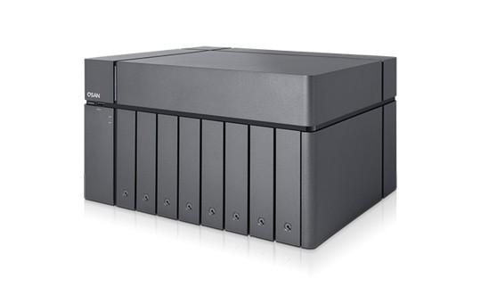 Qsan XCubeNAS XN8008T 8-Bay 7TB Bundle mit 7x 1TB P300 HDWD110