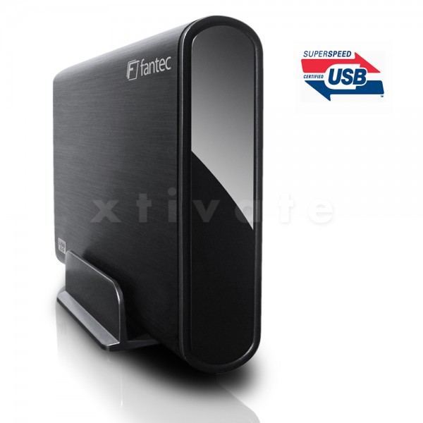 FANTEC DB-ALU3 USB 3.0 Festplatte 3,0 TB