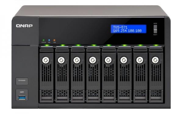 Qnap TVS-882BR-i5-16G 8-Bay 8TB Bundle mit 2x 4TB IronWolf ST4000VN008