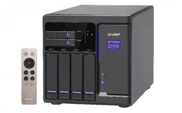 Qnap TVS-682-i3-8G 3.7GHz i3 DualCore 6-Bay NAS 8TB Bundle mit 4x 2TB WD20EFRX WD Red