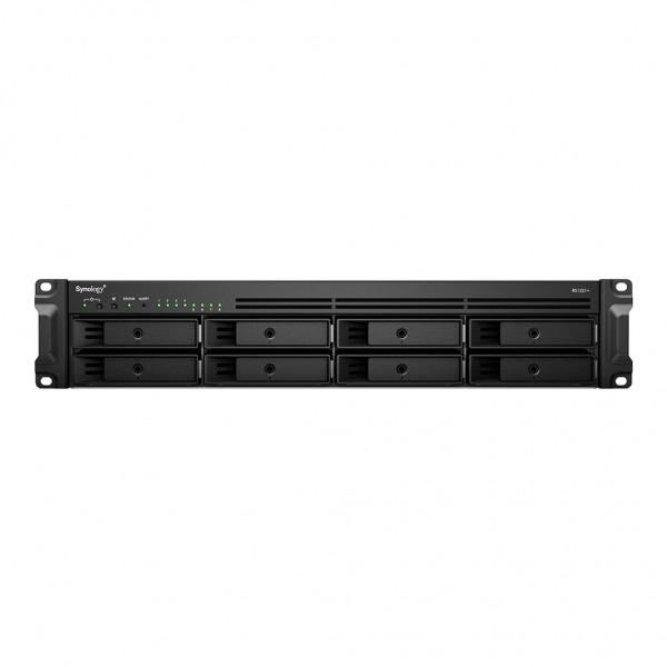 Synology RS1221+(4G) 8-Bay 56TB Bundle mit 4x 14TB Exos