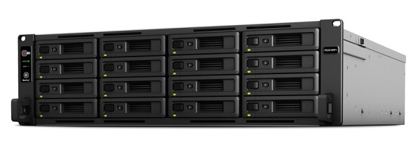 Synology RS2818RP+ 16-Bay 160TB Bundle mit 16x 10TB IronWolf Pro ST10000NE0004