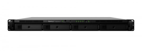 Synology RS1619xs+ 4-Bay 4TB Bundle mit 2x 2TB Gold WD2005FBYZ