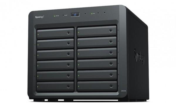 Synology DX1215II 12-Bay 96TB Bundle mit 12x 8TB Gold WD8004FRYZ