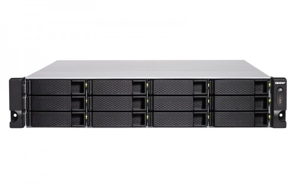 Qnap TS-1283XU-RP-E2124-8G 12-Bay 72TB Bundle mit 6x 12TB IronWolf Pro ST12000NE0008