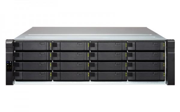 Qnap ES1640dc v2 16-Bay 64TB Bundle mit 8x 8TB HGST Ultrastar SAS