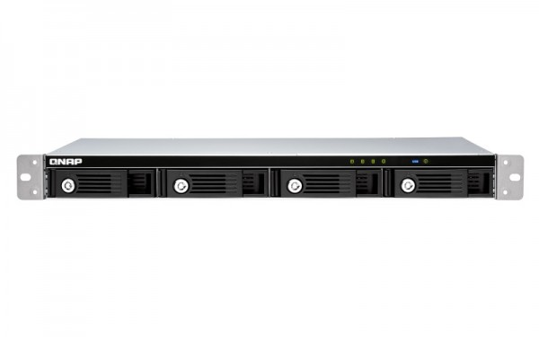 QNAP TR-004U 4-Bay 20TB Bundle mit 2x 10TB Red Plus WD101EFBX