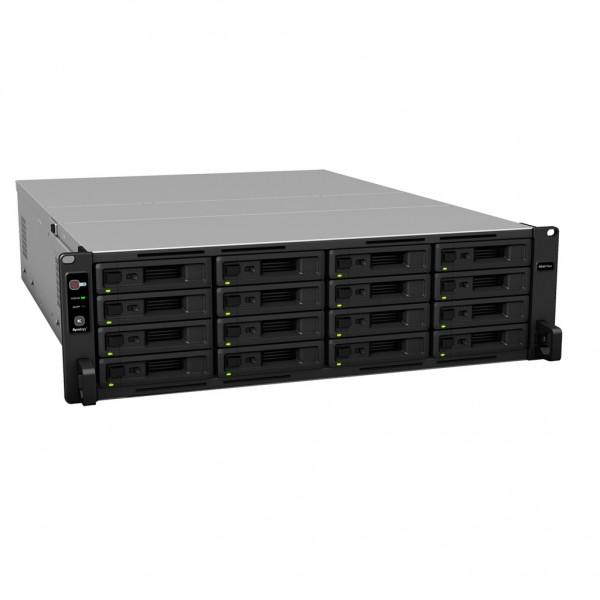 Synology RS4017xs+ 16-Bay 64TB Bundle mit 16x 4TB IronWolf Pro ST4000NE001