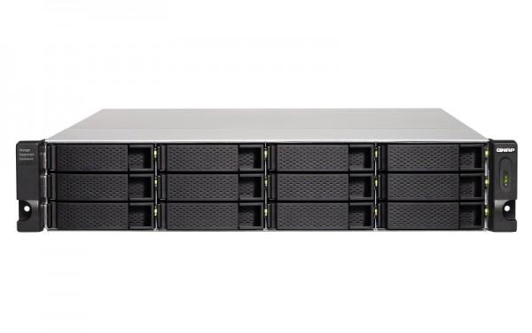 QNAP TL-R1200C-RP 12-Bay 24TB Bundle mit 12x 2TB Gold WD2005FBYZ