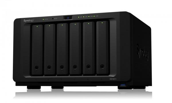 Synology DS1621+(8G) Synology RAM 6-Bay 108TB Bundle mit 6x 18TB IronWolf Pro ST18000NE000