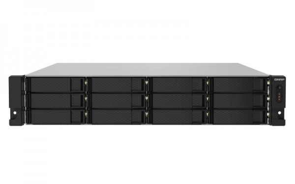 QNAP TS-1232PXU-RP-16G 12-Bay 12TB Bundle mit 6x 2TB Exos