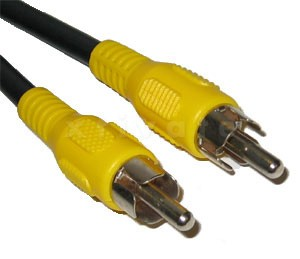[Restposten] Videokabel für Composite Signal Cinch Stecker Stecker - 2,0m