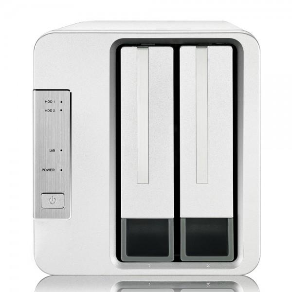 TerraMaster F2-210 2-Bay 6TB Bundle mit 2x 3TB DT01ACA300