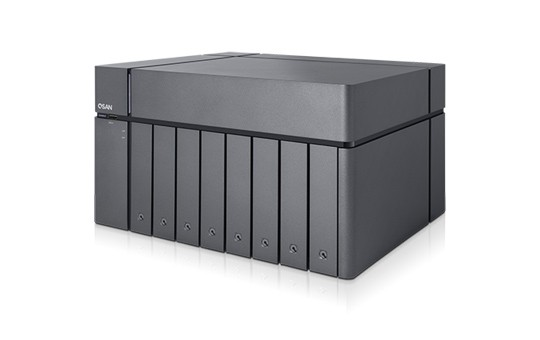 Qsan XCubeNAS XN8008T 8-Bay 28TB Bundle mit 7x 4TB Red Pro WD4003FFBX